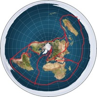 Flat Earth Maps  CReV121PHe6xnPVEIIWY